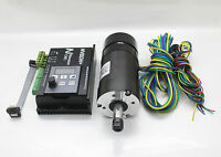 CNC 600W DDBLDV1.0 Brushless DC Motor Driver +400W BL Spindle Motor