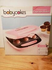 The Original Babycakes Nonstick Coated Cupcake Maker Pink Makes 6