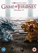 Game of Thrones Season 1-7 DVD BOXSET Complete Set 34 Disc 2017
