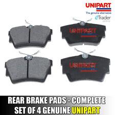 Vauxhall Vivaro Rear Brake Pads inc Trafic Primastar Genuine Unipart Set 4 Pad