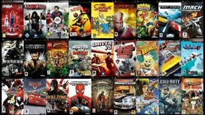 Sony PSP UMD Video Games Lot! You Choose ! Free Shipping Over 1 Item! UMD ONLY!