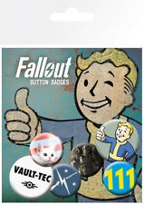 Fallout 4 Mix Gaming Badge Pack Pin Badges