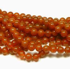 "10mm Natural Carnelian Round Beads 40cm 15"" Loose strand semi-preciouse Gemstone"