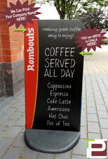 Chalk Board PAVEMENT SIGN - SHOP DISPLAY for Barbers, Coffee Shop, Cafe