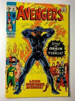 Avengers #87, VF- 7.5, Origin of the Black Panther