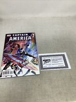 Captain America #600 Signed Mark Said Ed Brubaker Steve Epting Marvel Comics COA