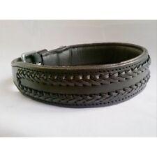 yesrd Beautiful Braided Leather dog Collar LDC-902