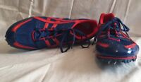 Asics Running Cleats GN501 Metal Spikes Shoes Track Field Men's US 11 Euro 45