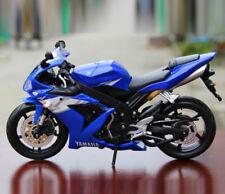 MAISTO 1/12 Yamaha YZF-R1 Motorcycle Model Blue Diecast Motorbike Motor Toy Gift