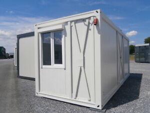 Einzelcontainer, leicht gebraucht, Lagercontainer, ca. 15 m²