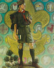 TOMORROW'S LEADERS BOY SCOUTS NORMAN ROCKWELL 8 x 10 PRINT