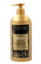 EVELINE LUXURY EXPERT 24K GOLD CAVIAR NOURHISIHING BODY MILK SPARKLY PARTICLES