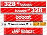 Bobcat 328 Mini Bagger Aufkleber Satz