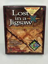 515 PIECE DIAGONAL MAZE LOST IN A JIGSAW PUZZLE ESCAPE FROM EDEN 100% COMPLETE