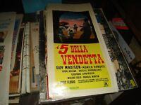 I 5 der Rache Plakat Original 1966 Guy Madison
