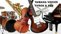 2280 Voices Für Yamaha GENOS-TYROS-PSR S -SX & CVP Clavinova