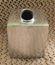 Paradigm Trends Tissue Box Cover Stainless Steel Square