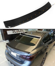 FITS FOR 2014-16 INFINITI Q50 S VIP CARBON FIBER REAR WINDOW ROOF SPOILER WING