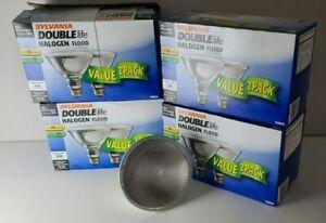(8) NEW Sylvania 45w Double Life Halogen 25° Flood Light Bulb PAR38 Dimmable