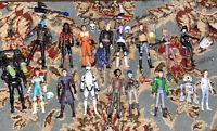 huge HTF Star Wars clone wars 17 figures lot as pictured Ashoka Leia Bane Look