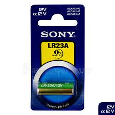 1 x SONY Alkaline LR23A battery 12V A23 MN21 K23A 3LR50 LRV08 Alarm Calculator