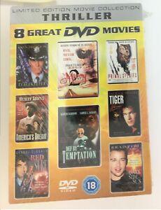 Thriller Films - 8 Great DVD Movies  [Box Set] [DVD] - Brand New & Sealed