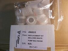 CALIPER LIFE SCIENCES- BELLOWS WASTE PUMP REPLACEMENT KIT--P/N: 49682/2----49813