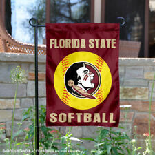 Florida State University Seminoles Softball Garden Flag and Yard Banner