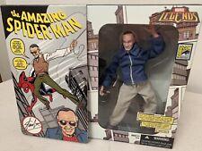 2007 Marvel Legends Stan Lee Spider-Man Action Figure Toy SDCC Exclusive Hasbro