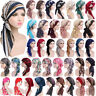 Women Elastic Turban Hat Cancer Chemo Hair Loss Cap Muslim Hijab Head Wrap Scarf