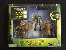 Bandai Ben 10 Alien Swarm Movie Collection Action Figures Set 1