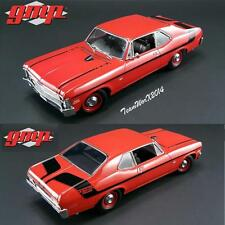 GMP 18830 1970 Chevy Nova Yenko Deuce - Cranberry Red Dicast Car 1:18 NEW!!