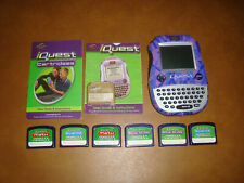 Quantum Leap iQuest System- 6 Cartridges & Manual-Tested Works