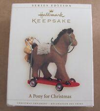 2006 Hallmark Keepsake A Pony for Christmas #9 in Series Ornament NEW!