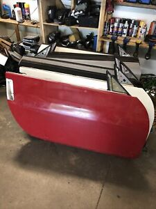 2003-2007 NISSAN 350Z Coupe PASSENGER RIGHT SIDE DOOR SHELL White Red