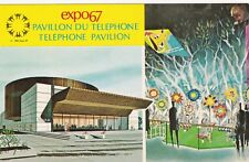 MONTREAL, Quebec, Canada, Expo1967; The Telephone Association of Canada Pavilion