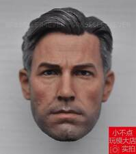 eleven 1/6 Scale Head Sculpt Ben Affleck For Hot Toys Bruce Wayne Figure Body