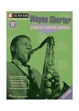 Jazz Playalong vol. 22 - Wayne Shorter 10 classics (Bb Eb C )