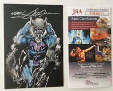 Neal Adams Signed Autographed 3.5 X 5 Classic Card JSA Certified Rise Of Magic