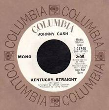 JOHNNY CASH 45 RPM - Kentucky Straight / Any Old Wind That Blows