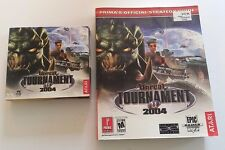 ATARI UNREAL TOURNAMENT PC GAME AND PRIMAS OFFICIAL STRATEGY GUIDE 2004