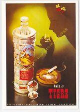 Reproducción antigua publicidad ANIS DEL TIGRE