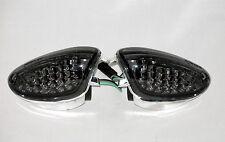 LED negro Luz Intermitente Delantero Suzuki GSX R 600 750 K6 K7 K8 K9 L0 L1 L2