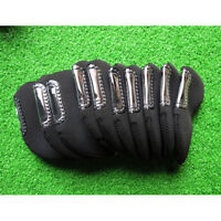 10pcs/set Golf Club Iron Head Covers Bring For Titleist Taylormade Ping Callaway
