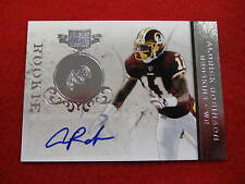 2011 Plates and Patches Aldrick Robinson rookie autograph Redskins  RC 4 of 73