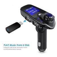 T11 Wireless Bluetooth LCD MP3 Player FM Transmitter Handsfree Car Kit USB