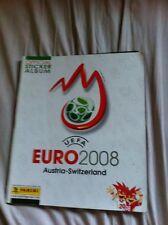 ALBUM CALCIATORI PANINI     EURO 2008 COMPLETO PREZZATO QUASI OTTIMO
