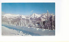 View of Monarch Pass  Winter   CO  Unused Chrome Postcard 973