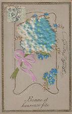 Carte postale fantaisie ancienne  bonne et heureuse fête