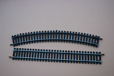 V417 LIMA train Ho 1 rail courbe 3011 R=430 inf 30° + 1 rail droite N/ 3020